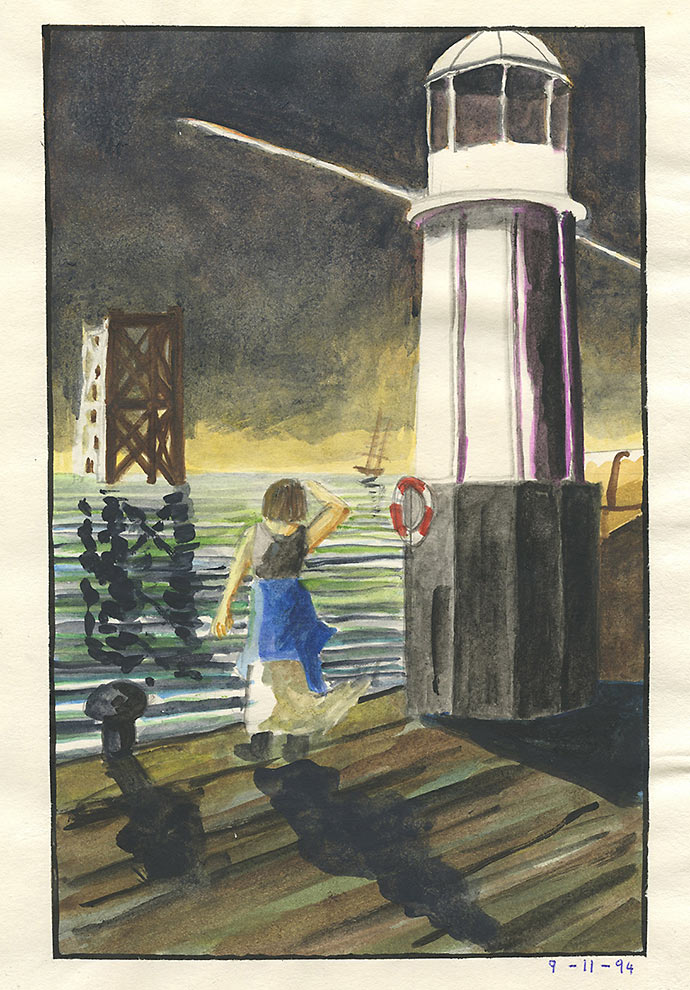 Untitled Harbour Light 2 - 1994